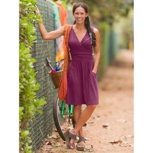 Athleta Jura dress purple size medium